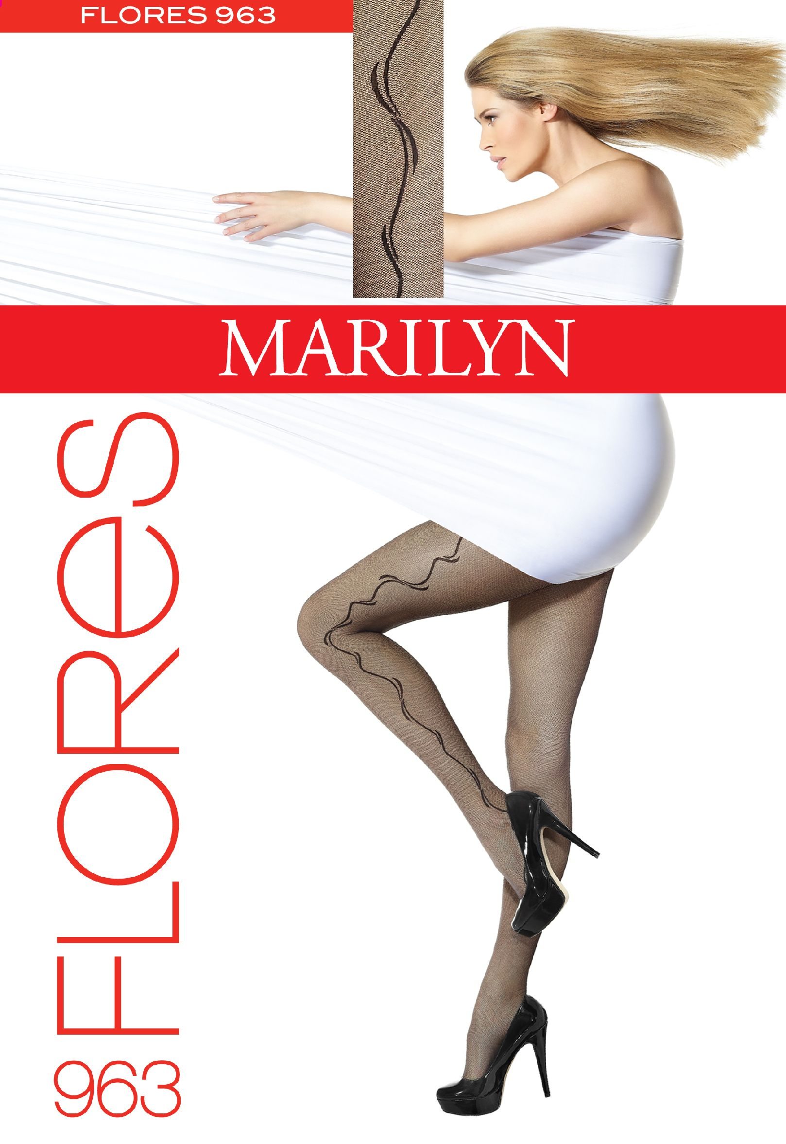 TIGHTS FLORES 963